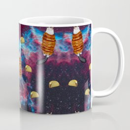 Cat Bacon and Taco Space Coffee Mug