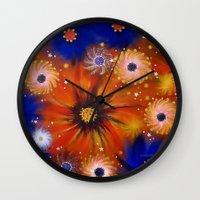 millenium falcon Wall Clocks featuring Millenium by Louvretta