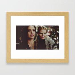 Em, I'm sorry. Framed Art Print