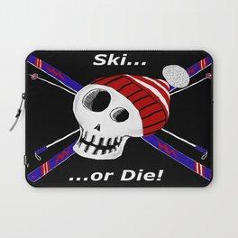 Ski or Die! Laptop Sleeve