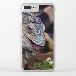 Snacktime. Clear iPhone Case