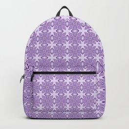 Purple Tribal Motif Pattern Backpack