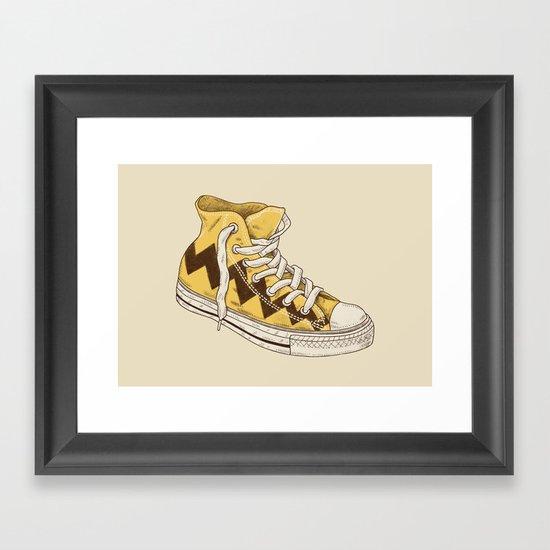Chuck Framed Art Print