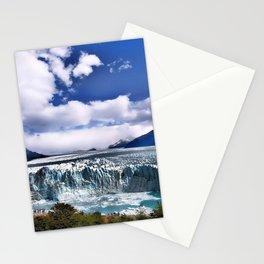 Perito Moreno glacier Los Glaciares National Park argentinian landmarks beautiful nature Argentina South America Stationery Cards