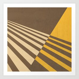 Moving Forward I Art Print