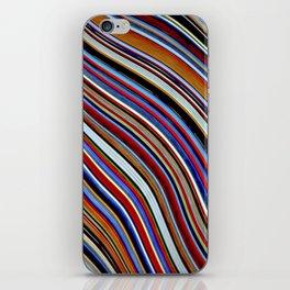 Wild Wavy Lines X iPhone Skin