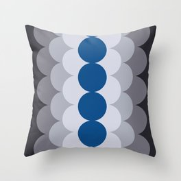 Gradual Lapis Blue Throw Pillow