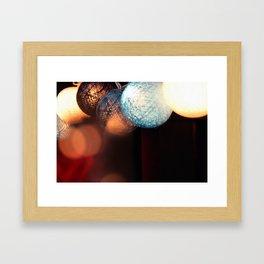 Fairy Lights.  Framed Art Print