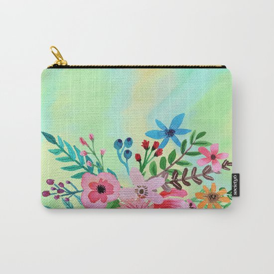 Flowers bouquet watercolor #6 Carry-All Pouch