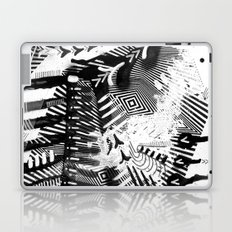 GRAY AND BLACK Laptop & iPad Skin