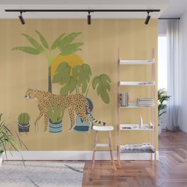 My Urban Jungle Cat Wall Mural