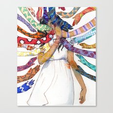 Shielding  Canvas Print