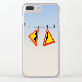After-swim Clear iPhone Case
