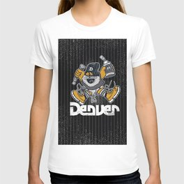 Denver Mascot Royal Stain T-shirt