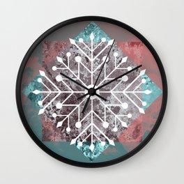 Flake Wall Clock