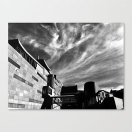 Clouds Over Te Papa Canvas Print