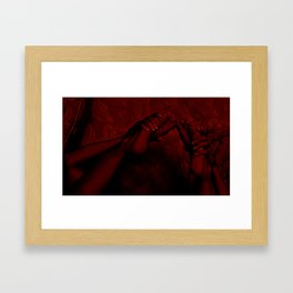 Puncak Nafsu Framed Art Print