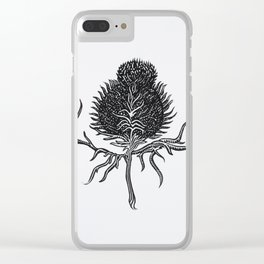 Onopurdum Acanthium Clear iPhone Case