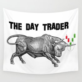 The Day Trader Wall Tapestry