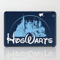 hogwarts iPad Cases featuring HOGWARTS by Bilqis