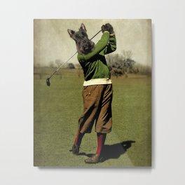 Fore Caddie - Scottie Dog Metal Print
