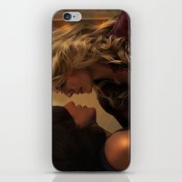 swan queen iPhone & iPod Skins featuring Swan Queen in the kitchen by Two Swen Idiots