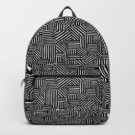 Geometric Crazy Lines! Backpack