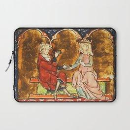 Arthur Legend 2 Lancelot and Guenevere Laptop Sleeve