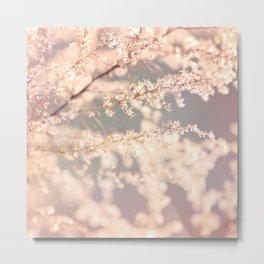 Delicate Flowers Metal Print