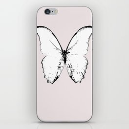 buttefly fly fly away iPhone Skin