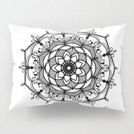 Hand-drawn mandala Pillow Sham