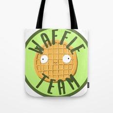 Waffle Team Tote Bag