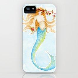 The Rose Mermaid iPhone Case