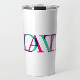 Love and Нate Travel Mug