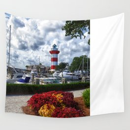 Hilton Head Lighthouse Wall Tapestry