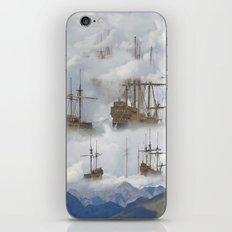 Cloudships iPhone & iPod Skin