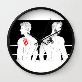 Sterek Hand Print Wall Clock