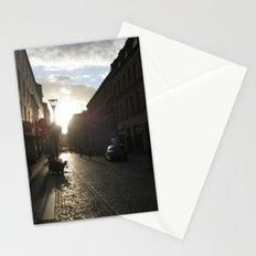 The Streets of Malmo Stationery Cards