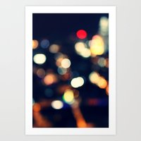 the lights Art Prints featuring Lights  by sasan p
