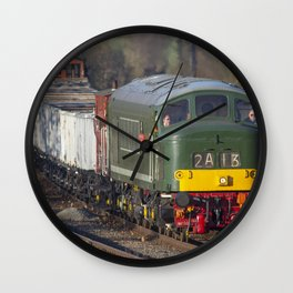 Class 45 Peak D123 train Wall Clock