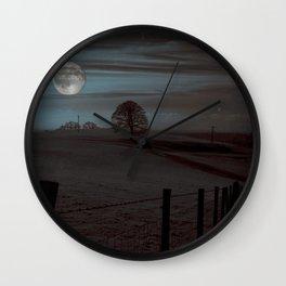 Moon Tor Wall Clock