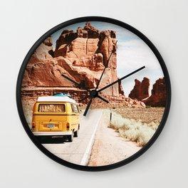 Van Life 4 / Utah Wall Clock