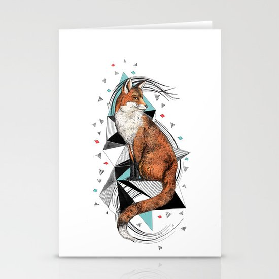 Foa the Fox Stationery Cards