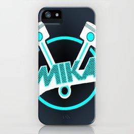 Pistons iPhone Case