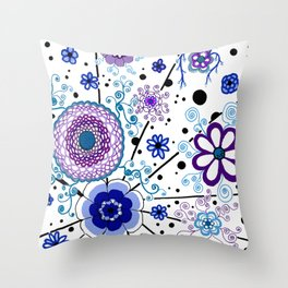 Ka-BLUE-ie! Throw Pillow