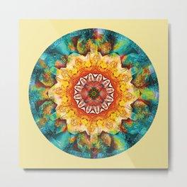 Mandalas from the Heart of Surrender 4 Metal Print