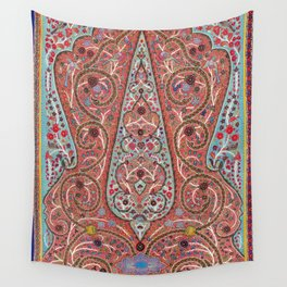 Rasht  Antique Persian Wall Hanging Print Wall Tapestry