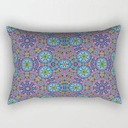 BBQSHOES: Kaleido-Fractal 1790 Rectangular Pillow