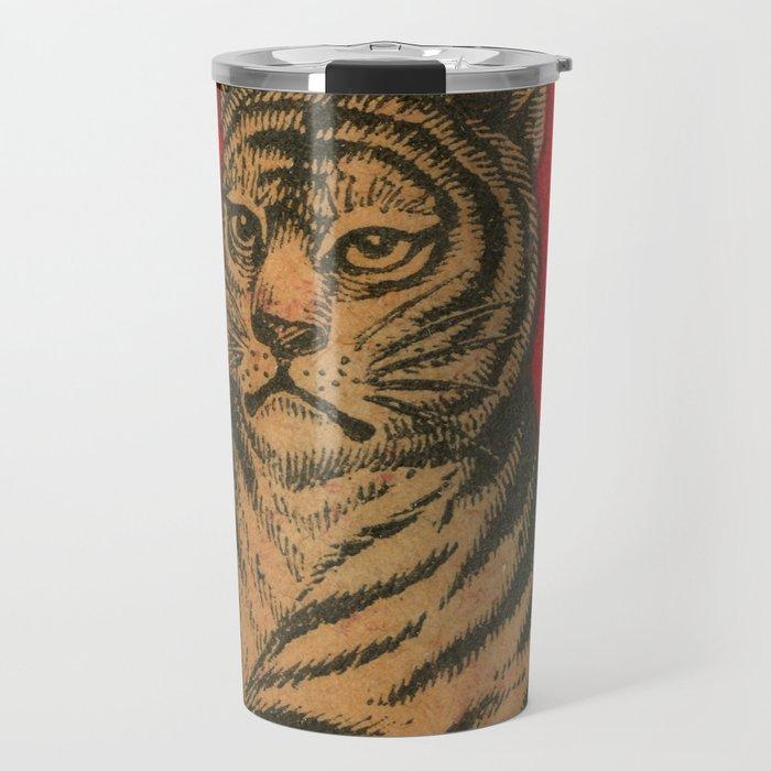 Vintage Matchbox Tiger Travel Mug