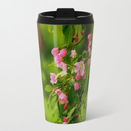 Apple Blossoms in the Spring Travel Mug